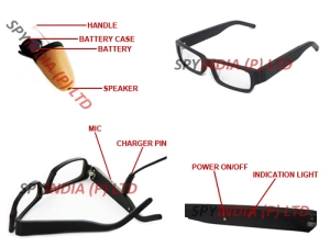 Spy Bluetooth Specs Earpiece Set