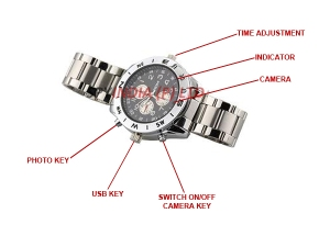 Spy Hidden Watch Camera in Delhi